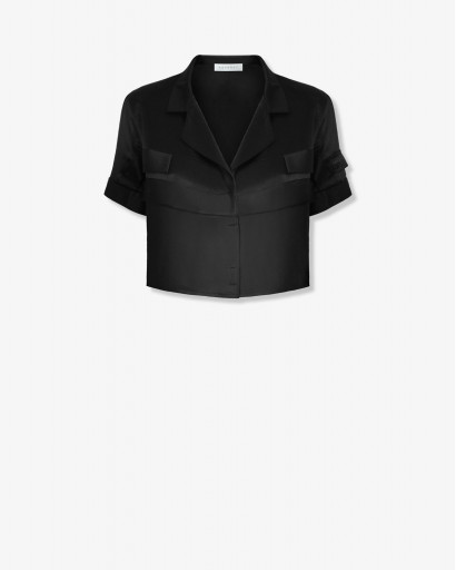 Блуза из атласного шелка