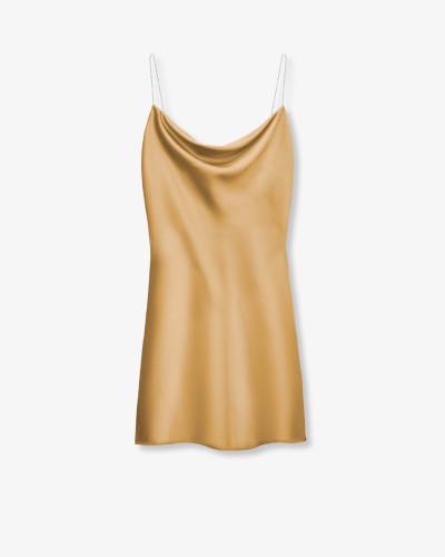 Мини-платье  на бретелях